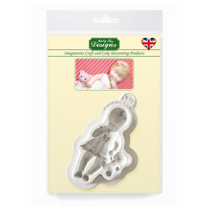 C&D - Baby Girl Silicone Mold pack shot