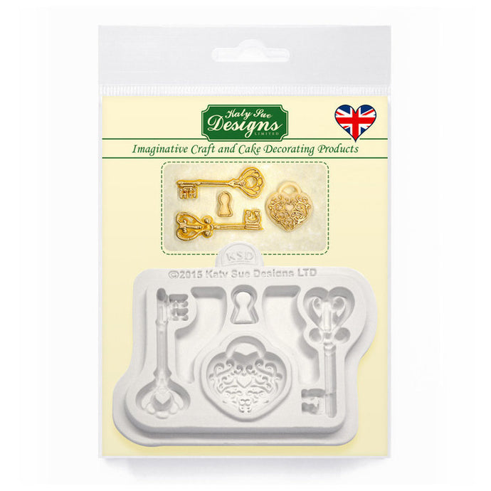 C&D - Decorative Keys & Locket Mold Pack Shot