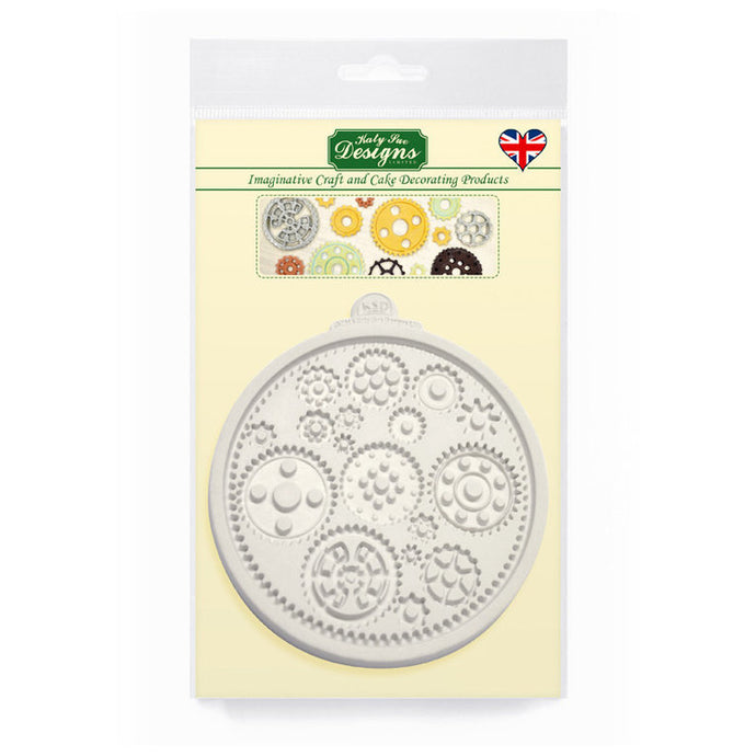 C&D - Cogs & Wheels Silicone Mold Pack Shot