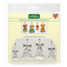 C&D - Christmas Bells Silicone Mold pack shot