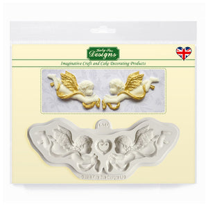 C&D - Ornamental Cherubs Silicone Mold Pack Shot