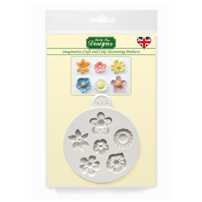 C&D - Flowers Silicone Mold Pack Shot