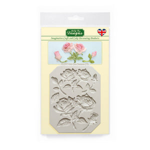 C&D - Rose Stems Flowers Silicone Mould Mold