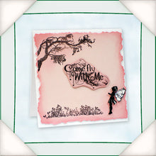 C - An idea using the Silhouette Stamp - Wishes & Vines product