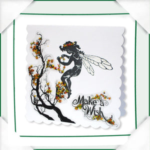 C - An idea using the Silhouette Stamp - Fairies product