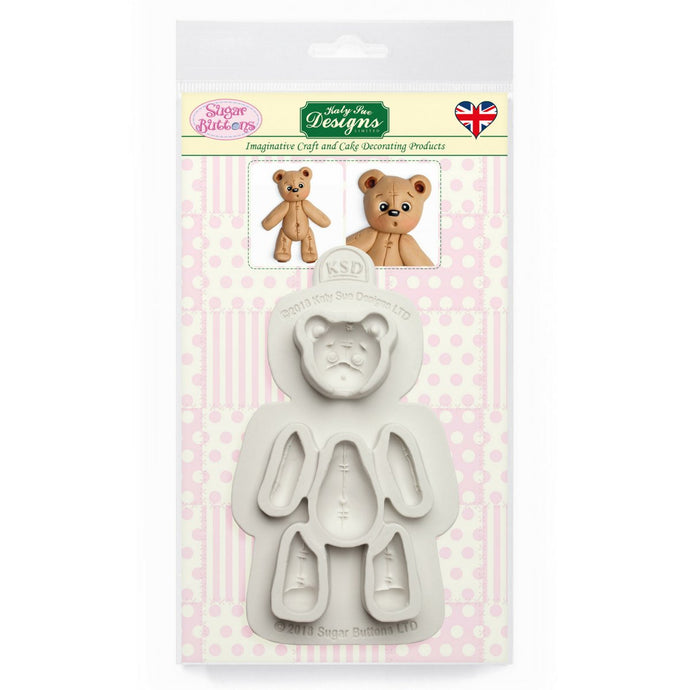 C&D - Stitched Teddy Bear Mould Pack Shot