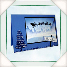 C - An idea using the Silhouette Stamp - Santa product