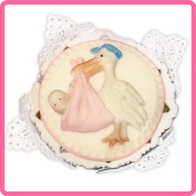 CD - An idea using the Stork & Baby Topper Mold product