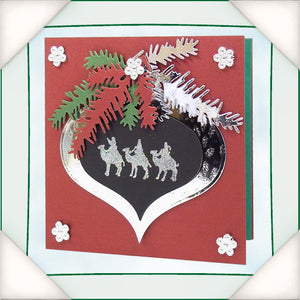 C - An idea using the Silhouette Stamp - Nativity product