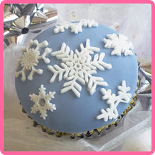 CD - An idea using the Snowflakes Silicone Mold product