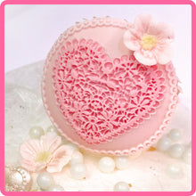 CD - An idea using the Lace Heart Topper Mold product