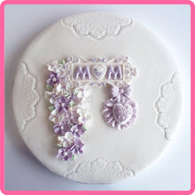 CD - An idea using the Domed Alphabet Silicone Mold product