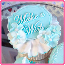 CD - An idea using the Make a Wish Mini Plaque Silicone Mold product