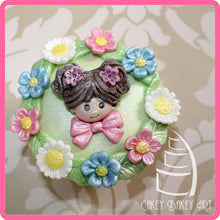 CD - An idea using the Fairy Sugar Buttons Silicone Mold product