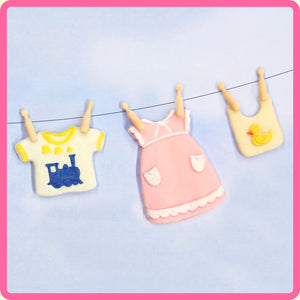 CD - An idea using the Baby Clothes Washing Line Mold product