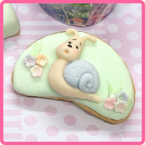 CD - An idea using the Garden Snail & Toadstools Sugar Buttons Mold product