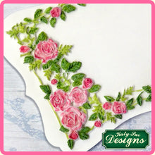 CD - An idea using the Rose Border Plaque Silicone Mold product