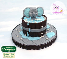 CD - An idea using the Baby Elephant Sugar Buttons Silicone Mold product
