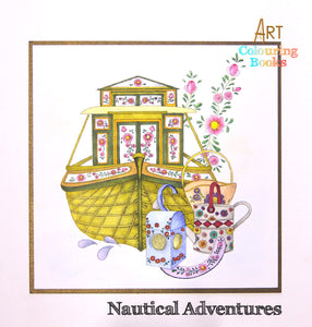 C - An idea using the Nautical Adventures Art Coloring Book product
