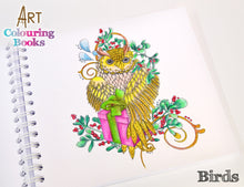 C - An idea using the Birds Art Coloring Book product
