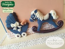 CD - An idea using the Rocking Horse Sugar Buttons Silicone Mold product