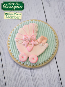 CD - An idea using the Pram Sugar Buttons Silicone Mold product