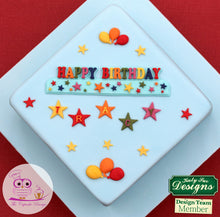 CD - An idea using the Star Numbers Silicone Mold product