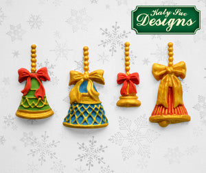 C&D - An idea using the Christmas Bells Silicone Mold product