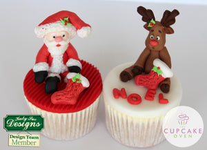 CD - An idea using the Reindeer Sugar Buttons Silicone Molds product
