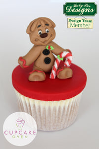 CD - An idea using the Gingerbread Man Sugar Buttons Silicone Mold product