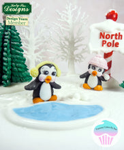 CD - An idea using the Penguins Sugar Buttons Silicone Molds product