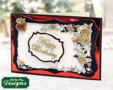 C - An idea using the Rose Border Plaque Silicone Mold product