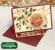 C - An idea using the Vintage Christmas Plaque - Circle Aperture product