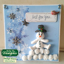 C - An idea using the Snowman Sugar Buttons Silicone Mold product