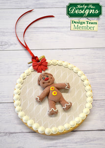 C - An idea using the Gingerbread Man Sugar Buttons Silicone Mold product