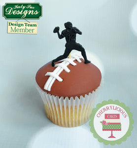 CD - An idea using the American Football Silhouettes Silcone Mold product