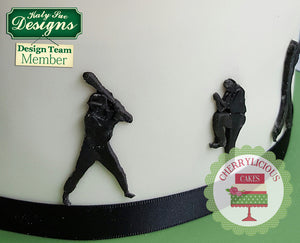 CD - An idea using the Baseball Silhouettes Silicone Mold product