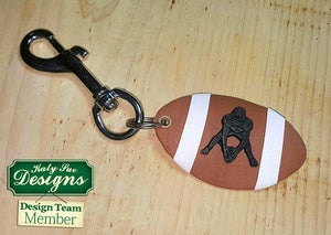 C - An idea using the American Football Silhouettes Silcone Mold product
