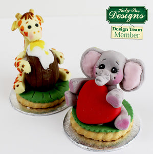 C&D - An idea using the Baby Elephant Sugar Buttons Silicone Mold product