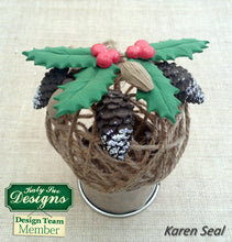 C - An idea using the Pine Cones Mold product