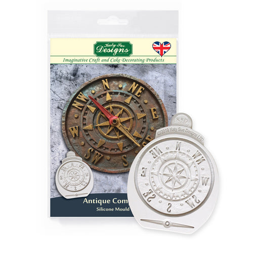 C&D - Antique Compass Silicone Mold