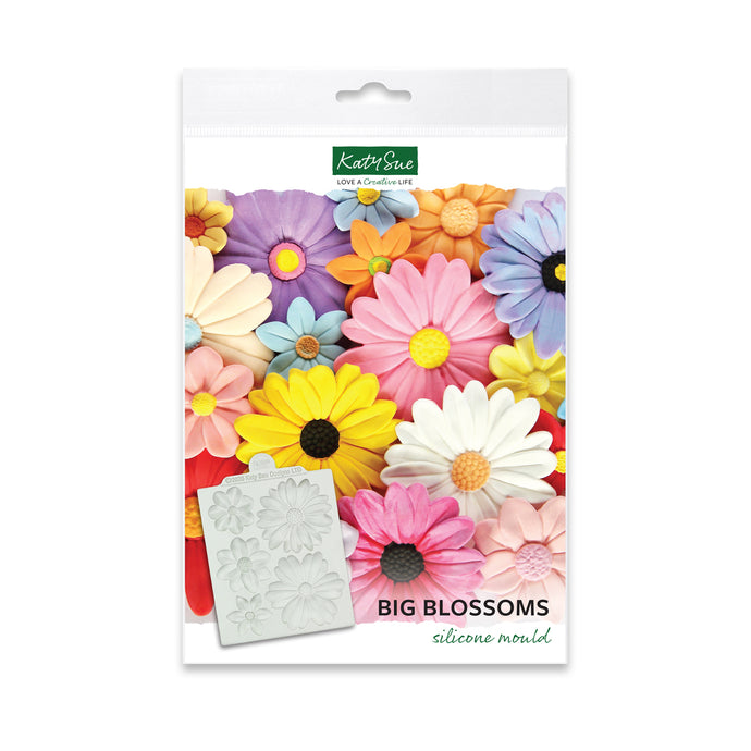 Big Blossoms Silicone Mold for Cake Decorating and Craft