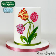 C&D - Tulips Silicone Embossers