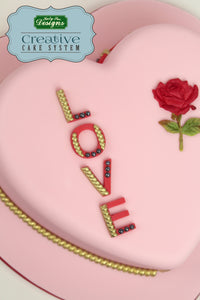 CD - Ceri Griffiths LOVE Silicone Mould