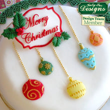 CD - An idea using the Christmas Baubles Silicone Mold product