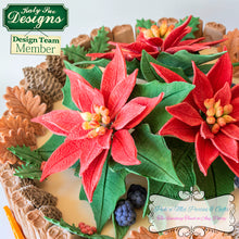 CD - Idea using Poinsettia Mold and Veiner