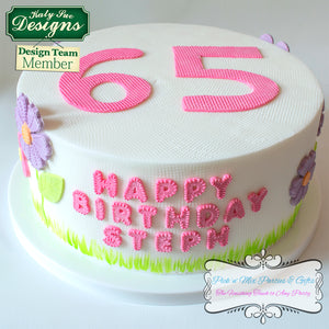 CD - Alphabet Cake Decorating
