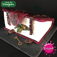 CD - Dragon cake decorating molds