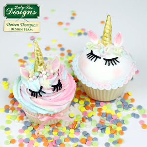 CD - Unicorn Ears, Horn and Lashes Mould