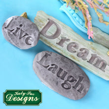 CD - An idea using the Dream Driftwood and Word Stones Mould